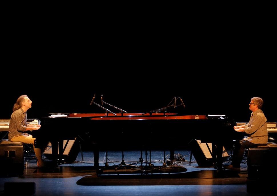 Chano Domínguez - Stefano Bollani - 49 Voll Damm Festival Internacional de Jazz de Barcelona
