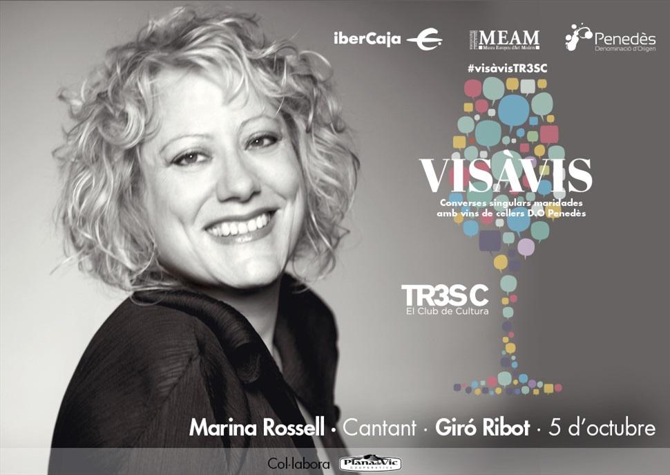 15è Vis à Vis TR3SC amb Marina Rossell i Giró Ribot