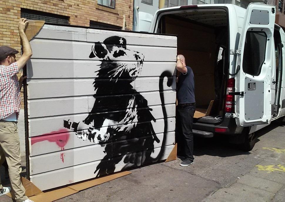 Saving Banksy · Festival Protesta