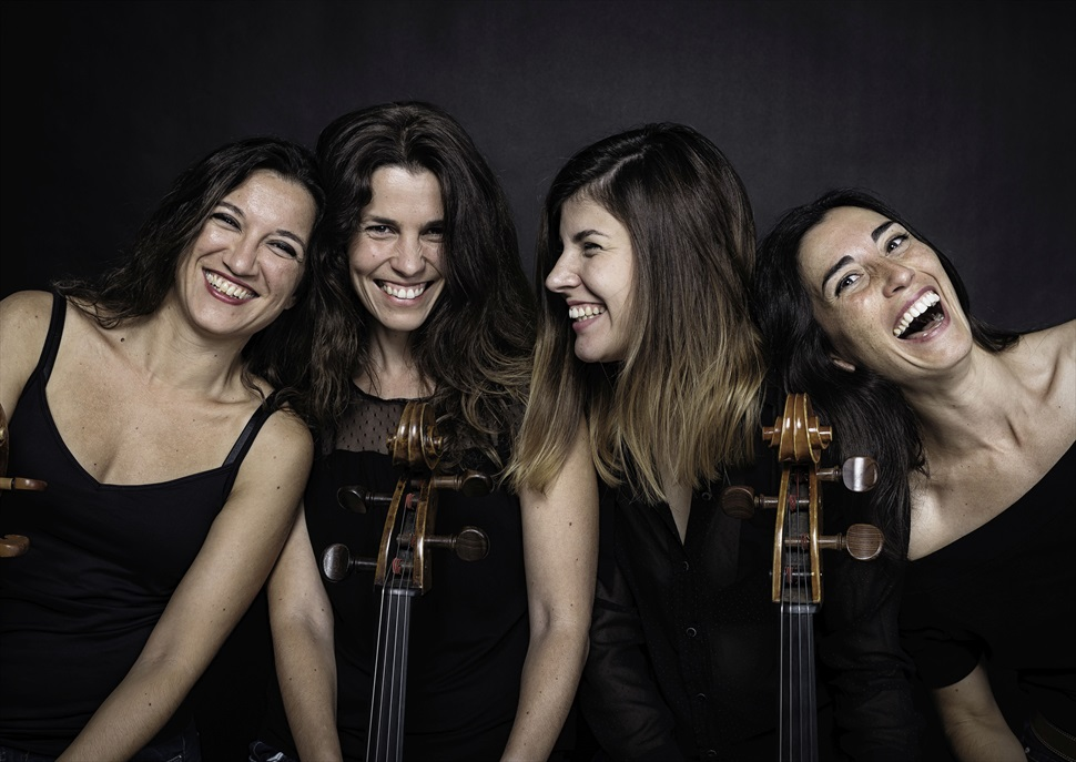 Dies de música: Amistats eternes - Mademoicelli (violoncels)