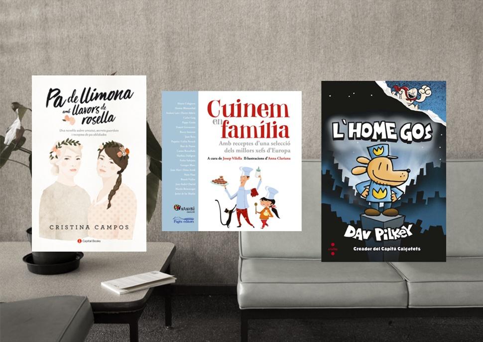 Pack de llibres: Cuinem en Família, L'home gos i Pa de Llimona