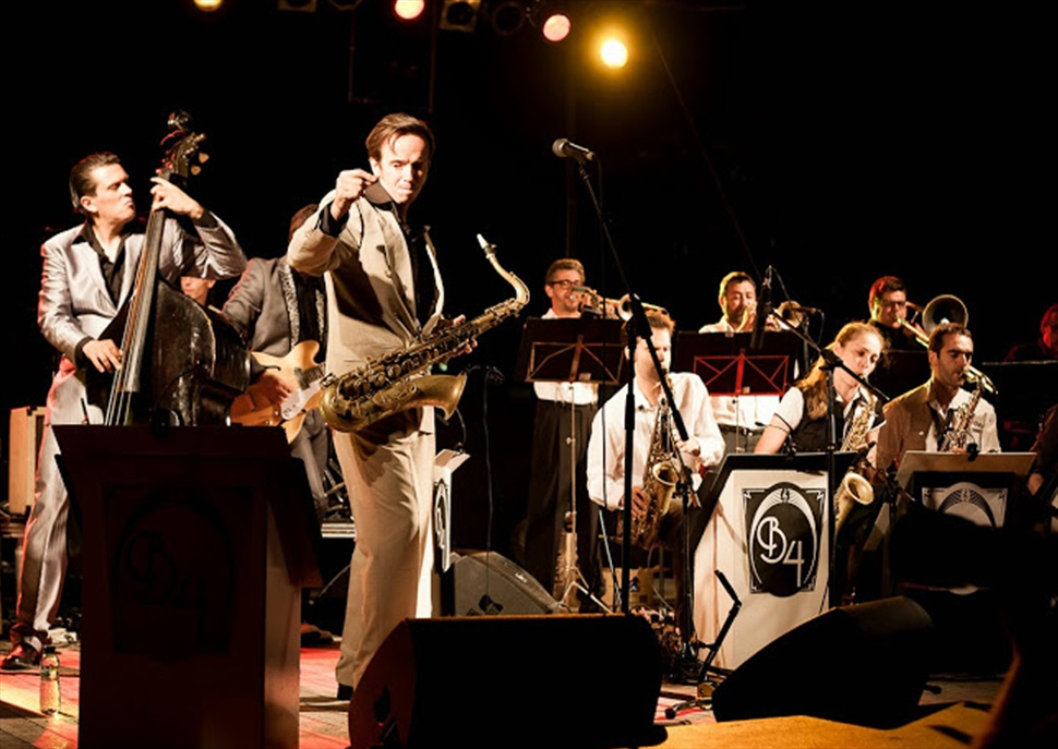 Barcelona Big Blues Band featuring Drew Davies · Festival SAX-O-RAMA