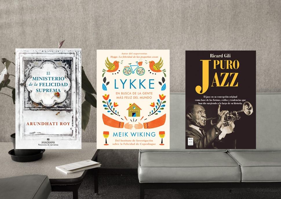 Pack de llibres: El Ministerio de la felicidad, Lykke i Puro Jazz