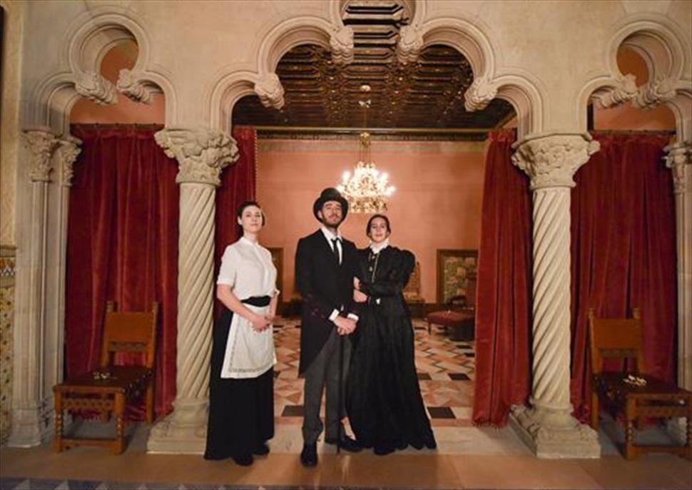 Visites teatralitzades amb la Família Amatller