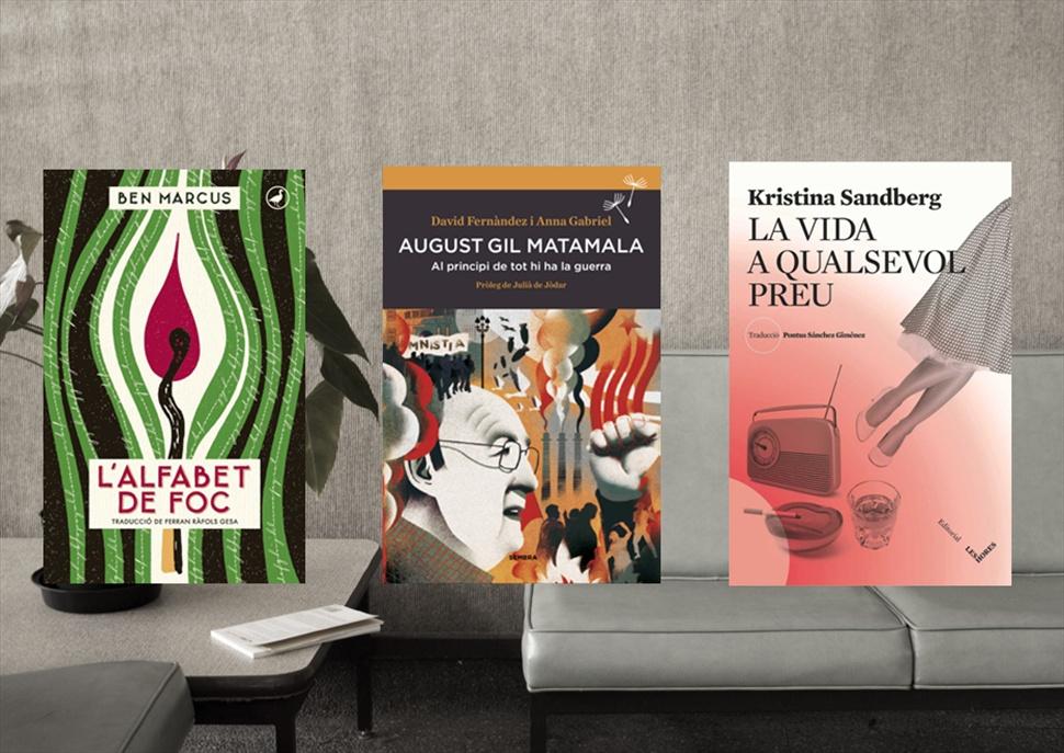 Pack de llibres: August Gil Matamala, L'alfabet de foc i La vida a qualsevol preu