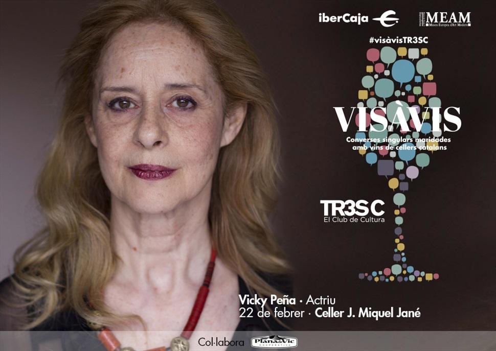 #VisàVisTR3SC amb Vicky Peña i el celler J. Miquel Jané