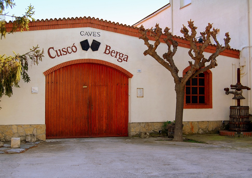 Visita enoturística exclusiva TR3SC a Vins i Caves Cuscó Berga
