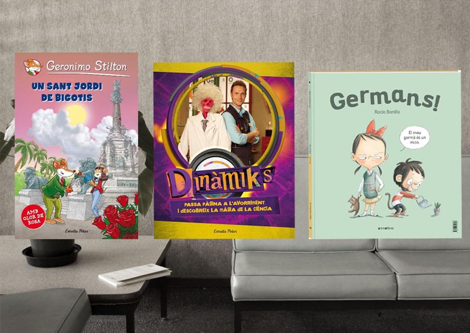 Pack de llibres: Germans!, Un Sant Jordi de Bigotis, Dinàmiks