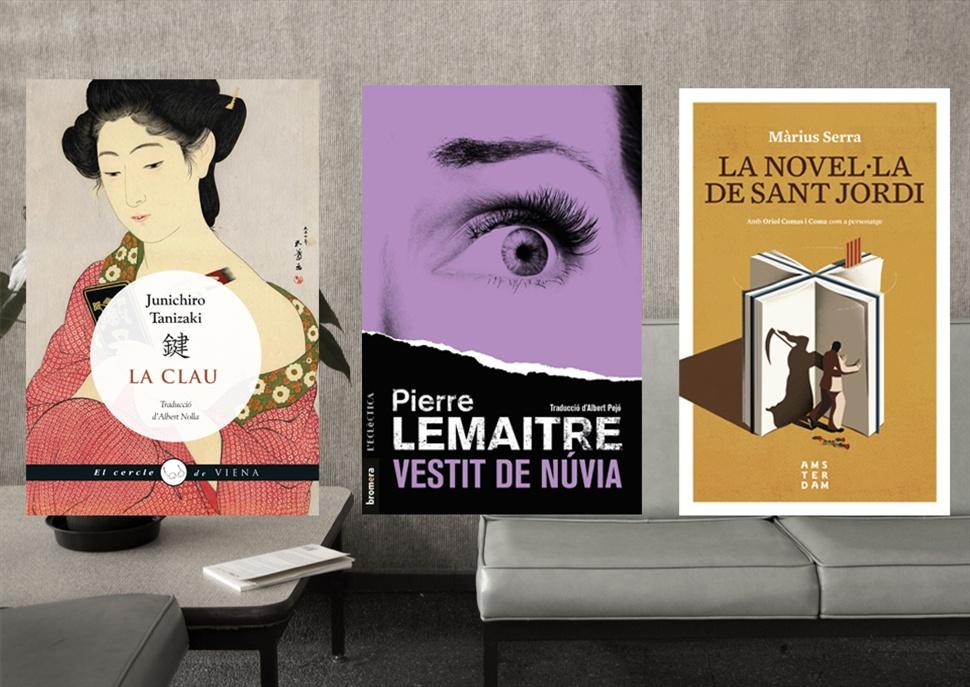 Pack de Llibres: La novel·la de Sant Jordi, La Clau i Vestit de núvia