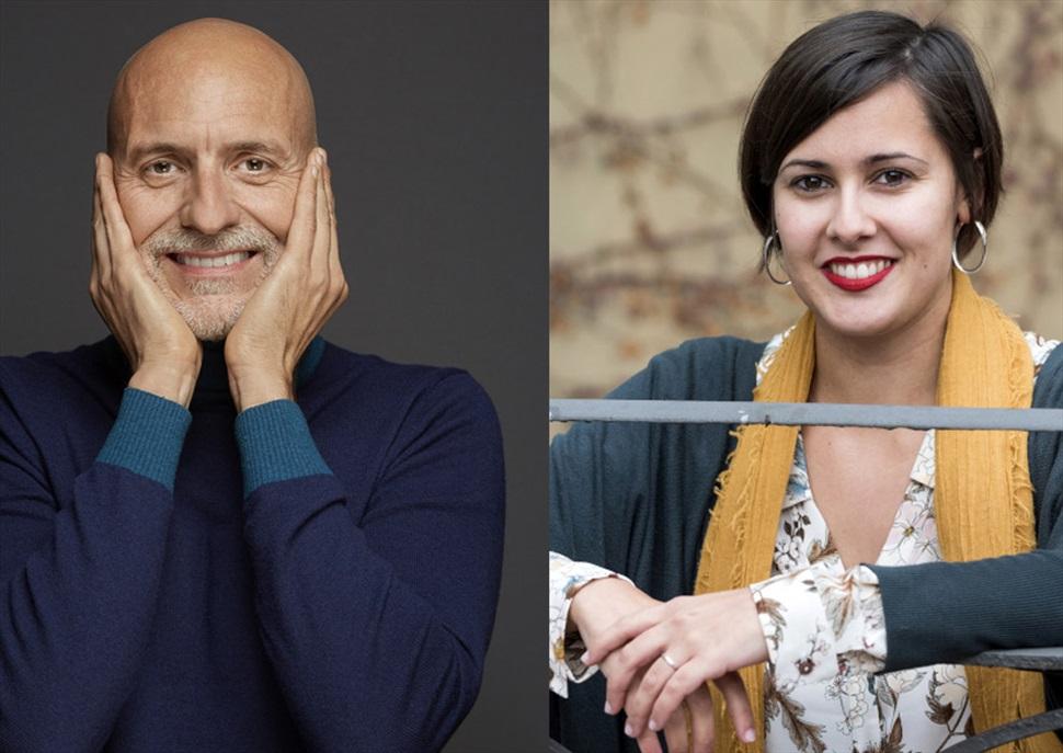 Fem un cafè amb Alejandro Palomas i Jenn Díaz