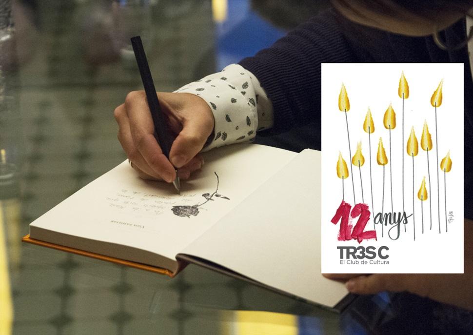 12è aniversari TR3SC: la festa del llibre de Sant Jordi a l'Antiga Fàbrica Damm