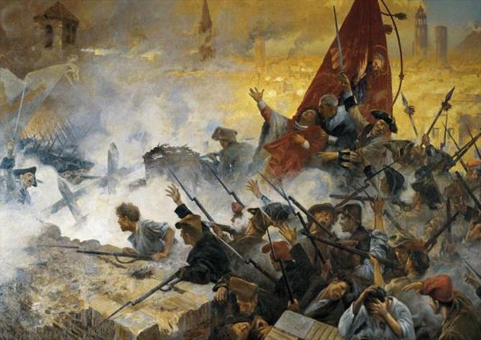 Hiscat: Barcelona 1714. Una ciutat en guerra