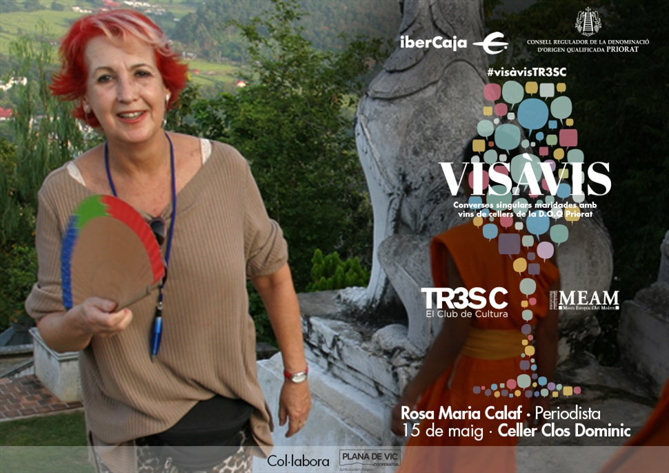 #VisàVisTR3SC amb Rosa Maria Calaf i Clos Dominic