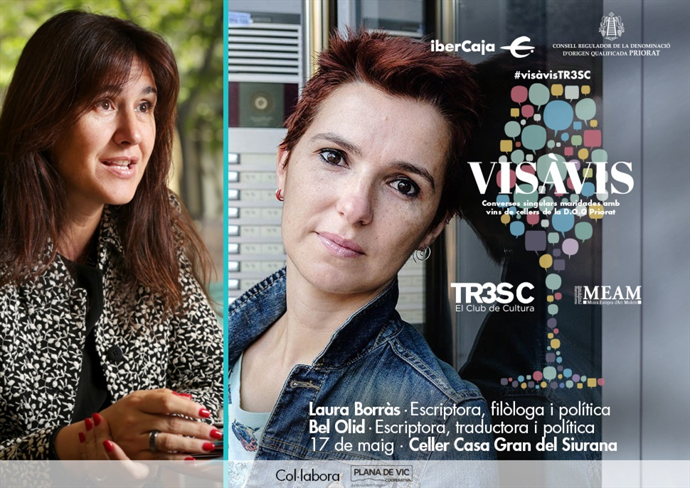#VisàVisTR3SC amb Bel Olid & Laura Borràs i Casa Gran del Siurana