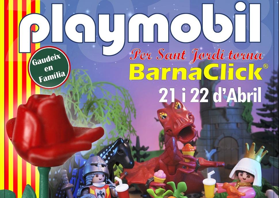 Fira lúdica i del col·leccionisme del Playmobil a Barcelona