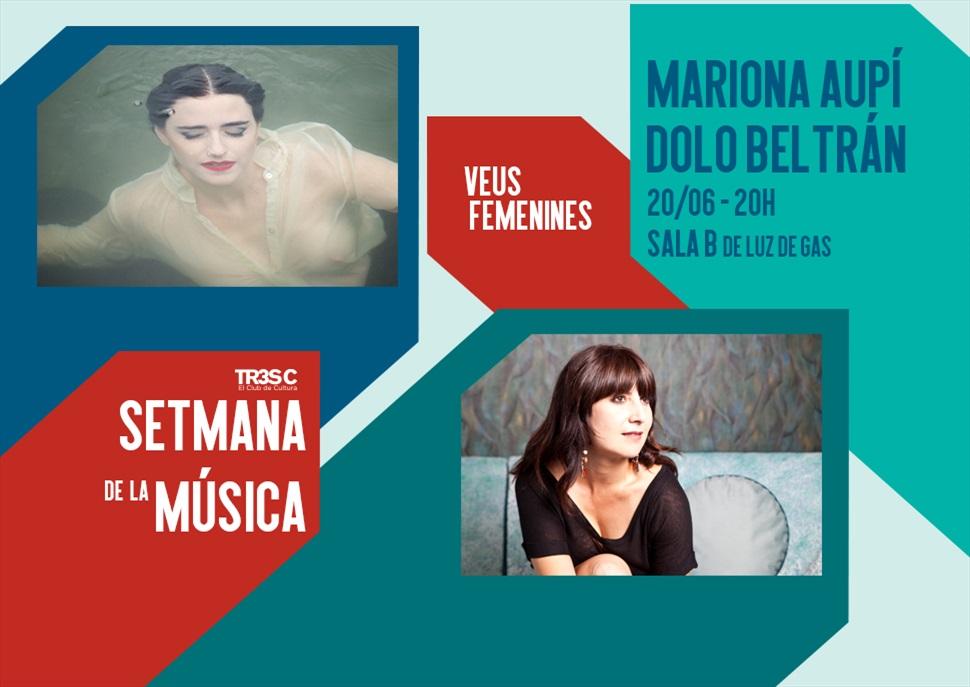 Mariona Aupí + Dolo Beltrán · Setmana de la Música