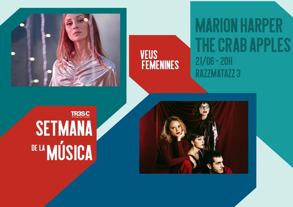 Marion Harper + The Crab Apples · Setmana de la Música