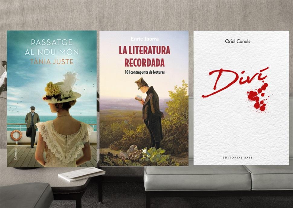 Pack de llibres: Passatge al nou món, Diví i La literatura recordada