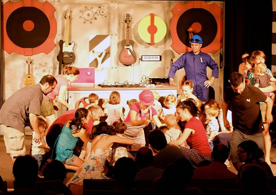 """Festival Bouquet d'Alella- Concert per a nadons """"Electric Babyland"""""""