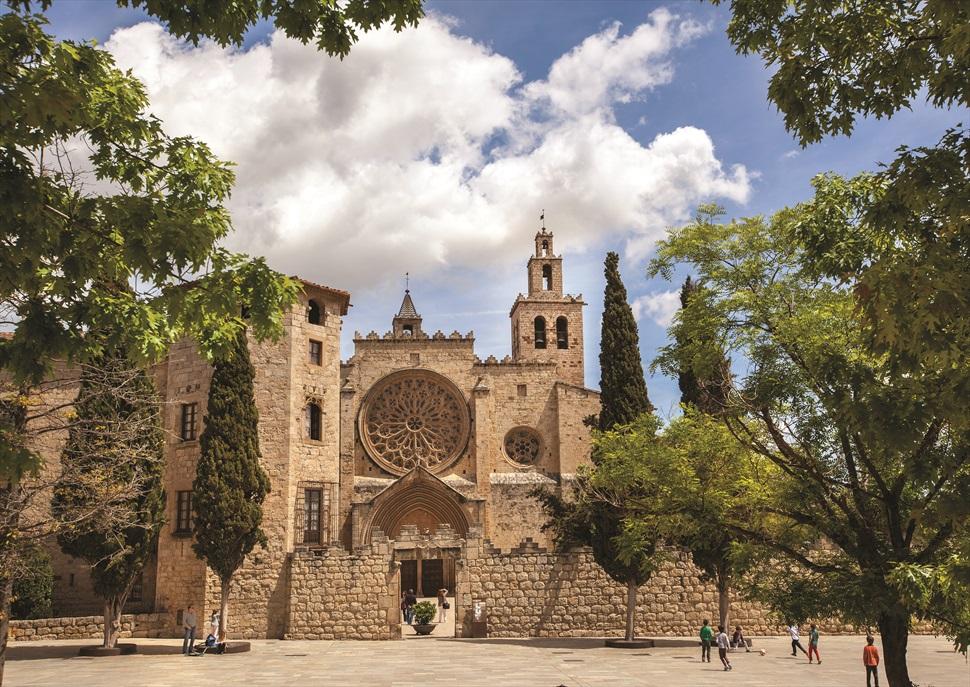 Visita al Monestir de Sant Cugat. El més poderós del comtat de Barcelona