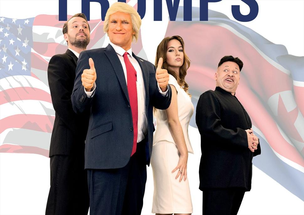 The trumps, el musical · Festival Perles