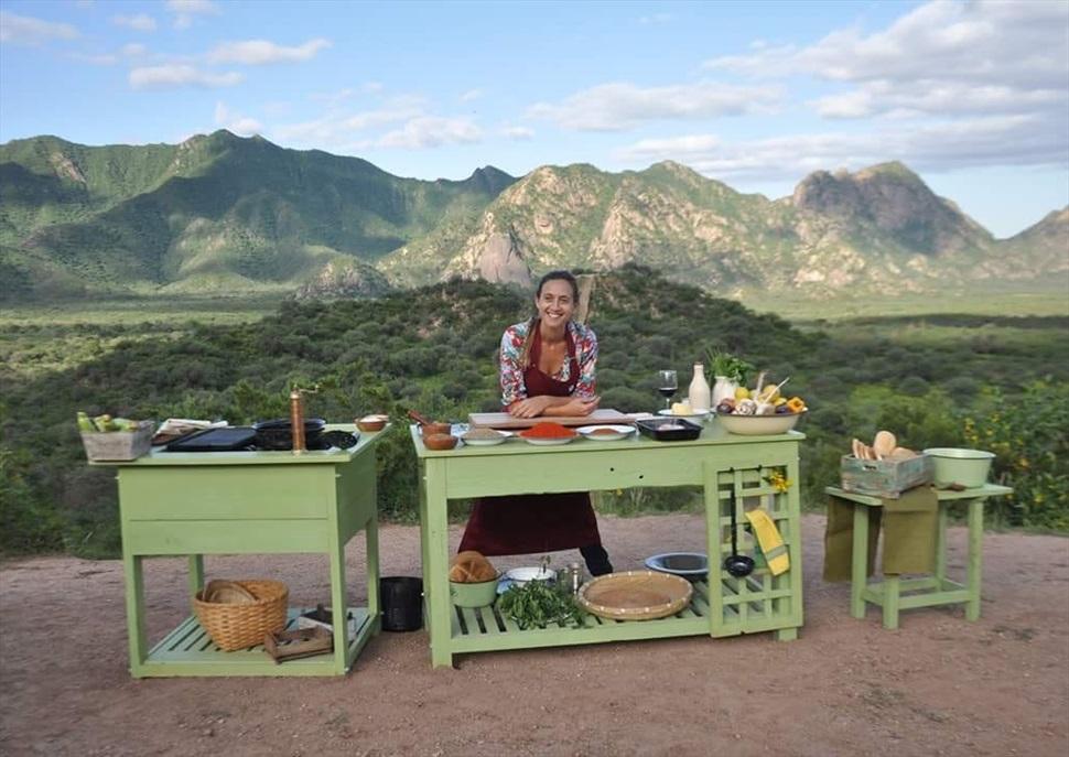 Classe de cuina amb Soledad Nardelli, la millor xef d'Argentina