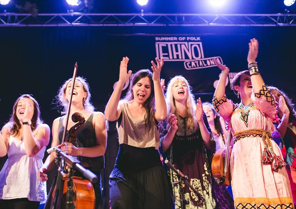 Concerts d'estiu al Recinte  Modernista de Sant Pau: Ethno Catalonia