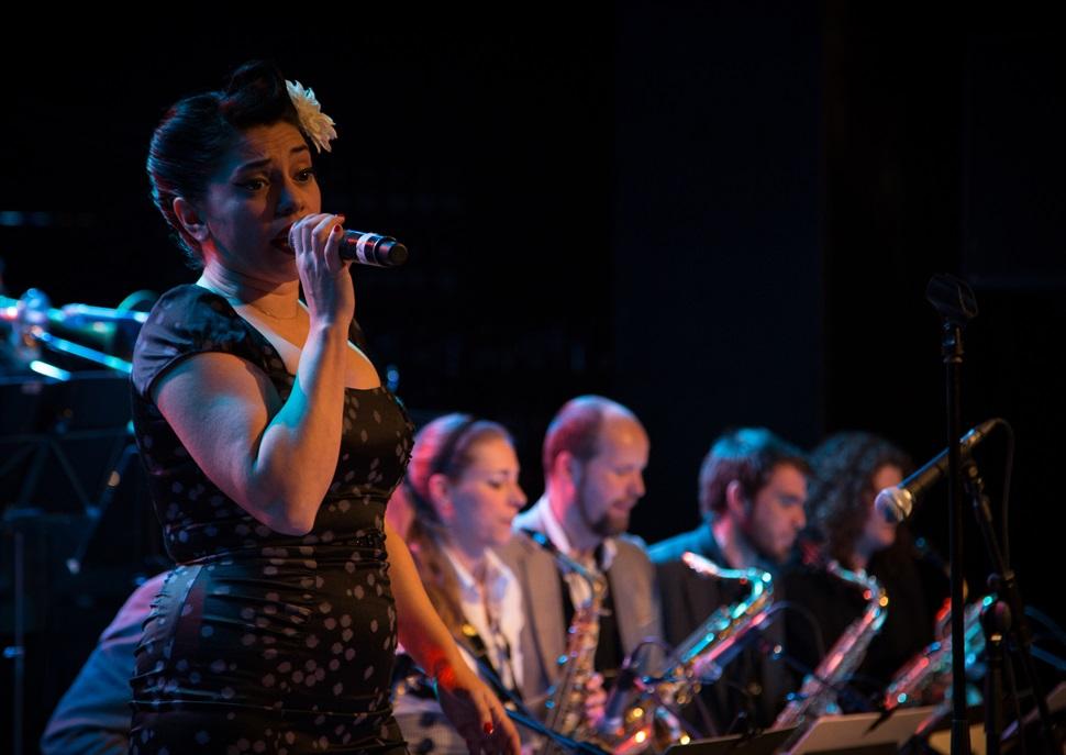 Barcelona Big Blues Band & Myriam Swanson  · MAS I MAS FESTIVAL 2018