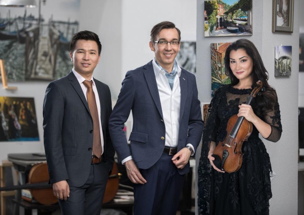 "De Bach a Sibelius: Trio Nacional del Kazahastan ""Forte Trio"" · Festival Internacional de Música de s'Agaró"