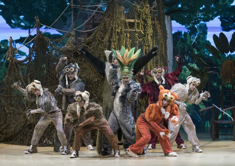 Madagascar, el musical en vivo