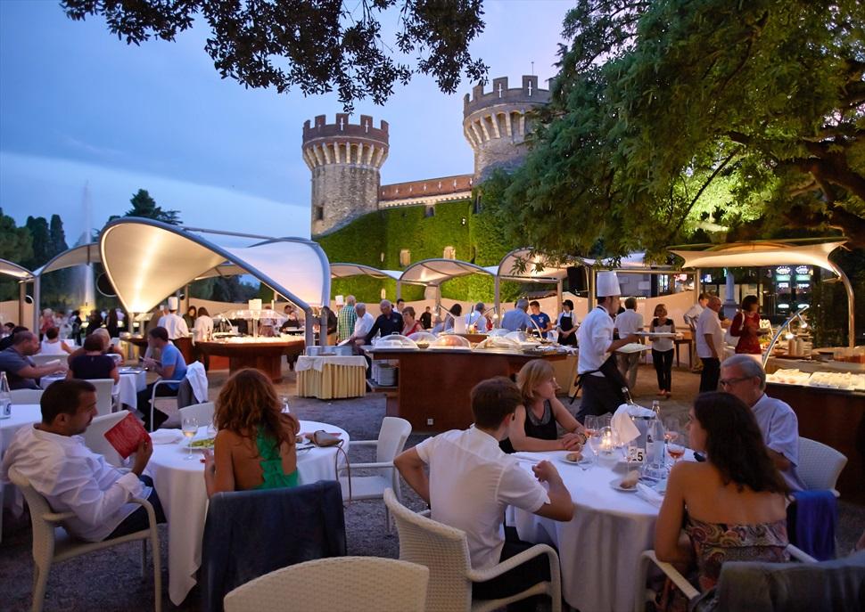 La Parrilla | Buffet gourmet als jardins del Castell de Peralada