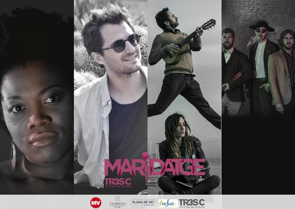 Maridatge enomusical amb vins DO Penedès al Mercat de Música Viva de Vic