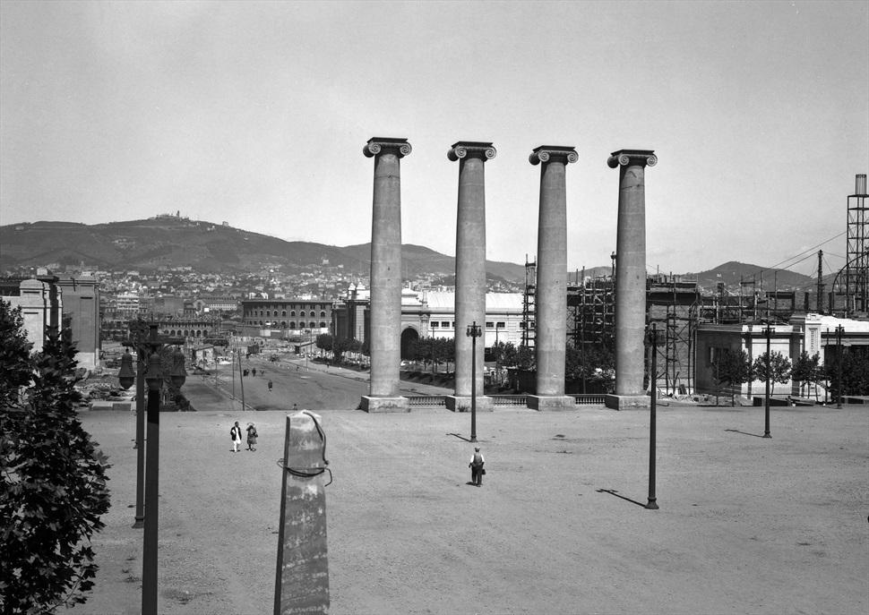 Itinerari Puig i Cadafalch a Montjuïc