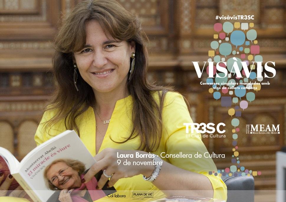 18è #VisàVisTR3SC amb Laura Borràs
