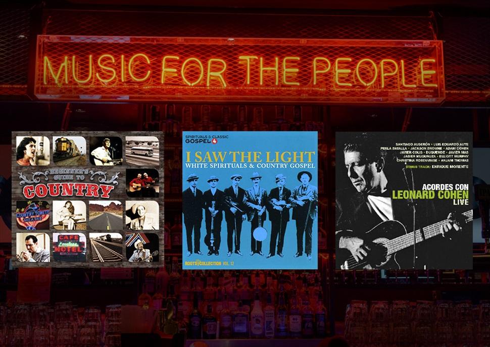 Pack L.Cohen + Country + Gospel (6 CDs)