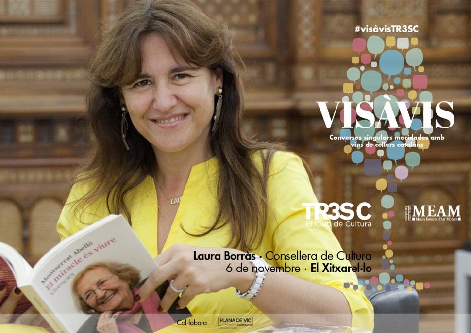 18è #VisàVisTR3SC amb Laura Borràs i El Xitxarel·lo