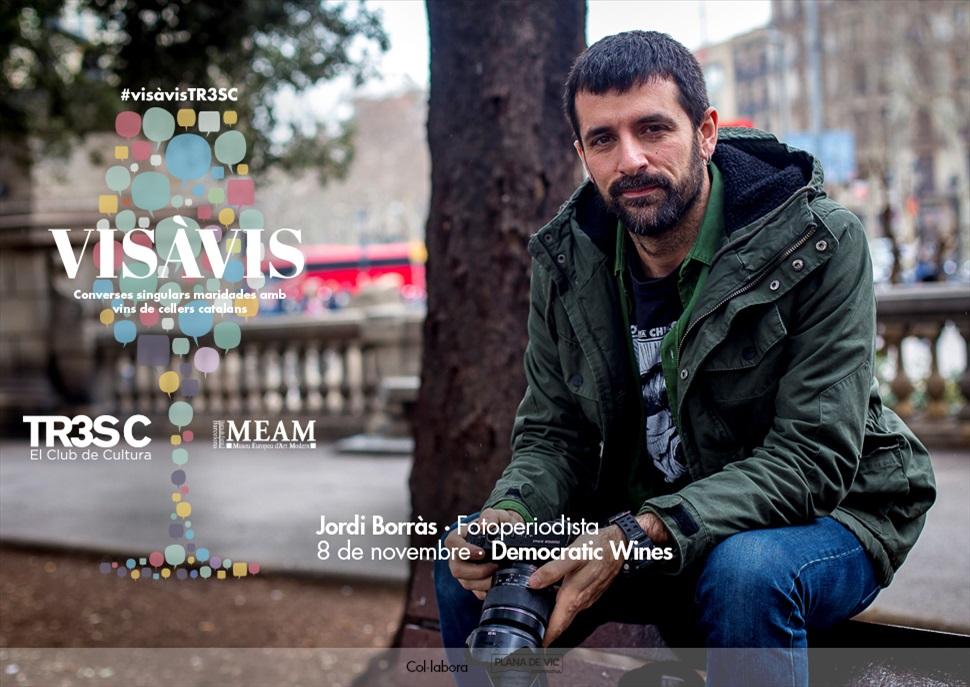18è #VisàVisTR3SC amb Jordi Borràs i Democratic Wines