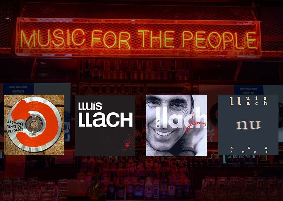 Lluis Llach PACK 4 cd's