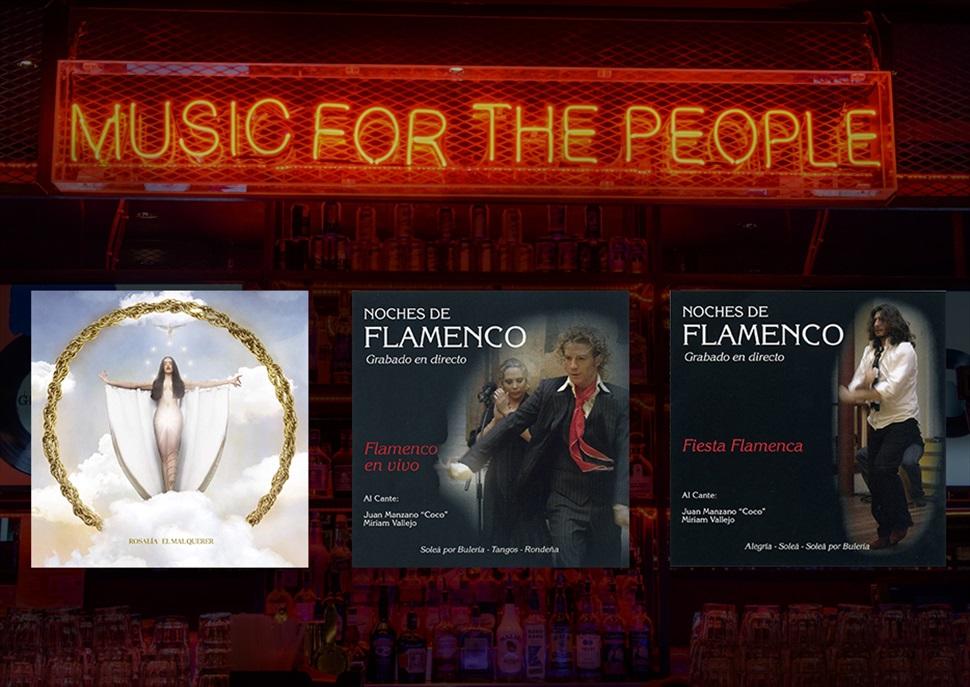 PACK 1 cd Rosalia + 2 dvd's Noches de Flamenco