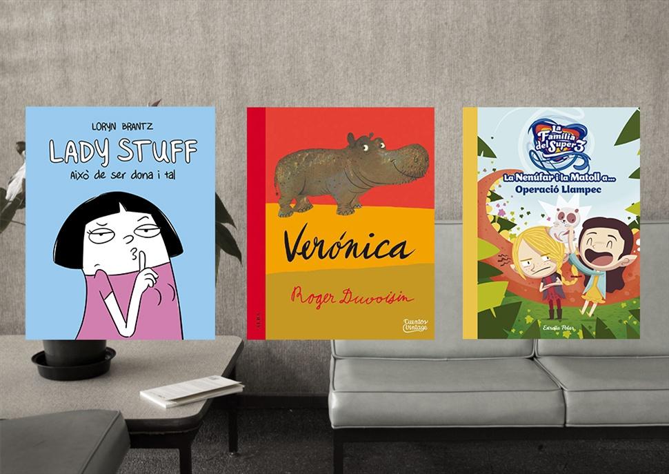 Llibres: Lady Stuff, Verònica i La Nenúfar i la Matoll a Operació Llampec