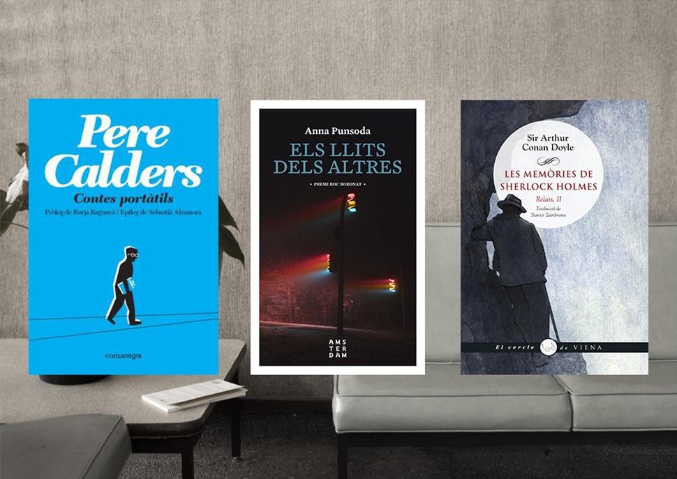 Llibres: Contes portàtils, Els llits dels altres i Les memòries de Sherlock Holmes