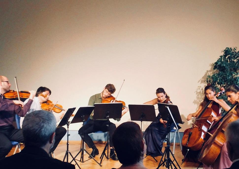 Concert al Recinte Modernista de Sant Pau. Sextet Mitternacht (violes, violins i violoncels)