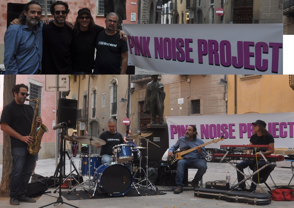 Concert The Pink Noise Project al Recinte Modernista de Sant Pau
