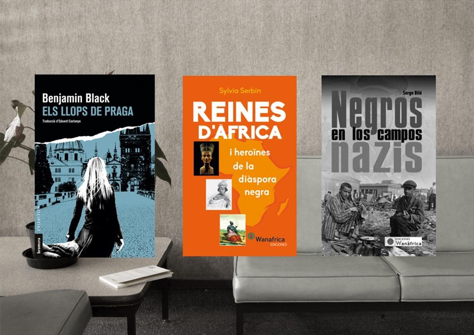 Llibres: Els llops de Praga, Reinas de África i Negros en los campos nazis