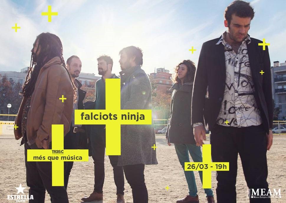 Falciots Ninja · MÉS QUE MÚSICA
