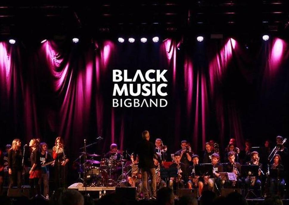 Festa d'estiu amb la Black Music Big Band i grups locals