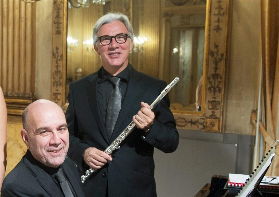 Recital de flauta i piano, Girardi i Camicia · Clàssics L'Escala-Empúries
