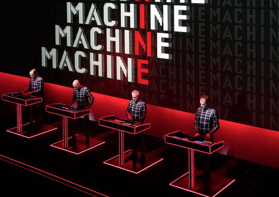 Kraftwerk 3D · FESTIVAL DE JARDINS DE PEDRALBES