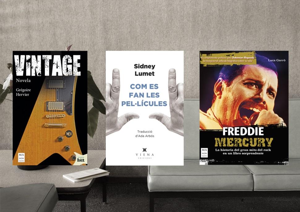 Llibres: Vintage, Freddie Mercury i Com es fan les pel·lícules