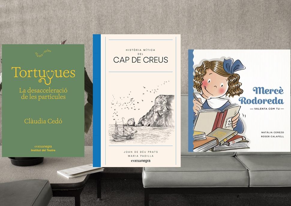 Llibres: Història mítica del Cap de Creus, Tortugues i Mercè Rodoreda Valenta com tu